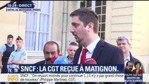 """""""Pour nous, la grève se poursuit"""", dit la CGT Cheminots reçue à Matignon"""