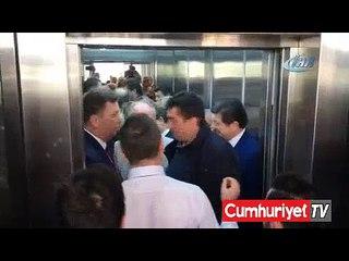 Muharrem İnce'yi kızdıran asansör krizi
