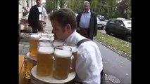 Tentative de record du monde de portée de bières.. Ratée !