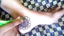 Arabic Feet Design | Gulf Feet Mehndi Design | Leg Mehndi | Foot Arabic Pattern - Naush Artistica