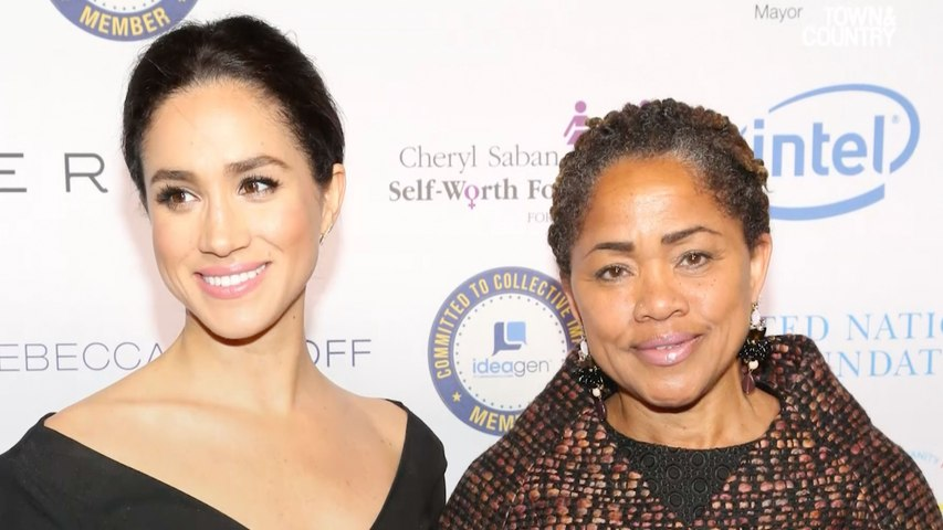 Here's How Meghan Markle's Parents Will Both Play A Role In Her Royal Wedding