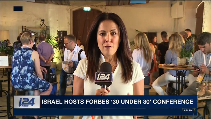 THE RUNDOWN | Israel hosts Forbes '30 under 30' Conference |  Monday, May 7th 2018