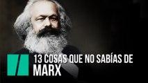 13 cosas que no sabías de Karl Marx
