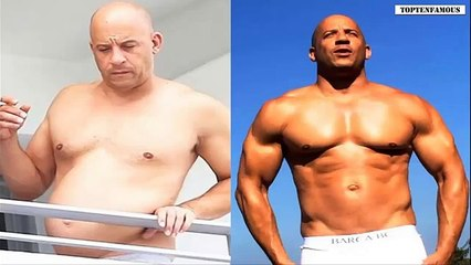 Vin Diesel training and workout for The Fate of the Furious - Body Transformation