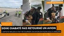 Sidiki Diabaté fais retourné un avion en plein vole à Abidjan