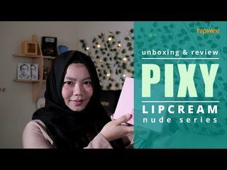 Swatches & Review: Pixy Lip Cream Nude Series