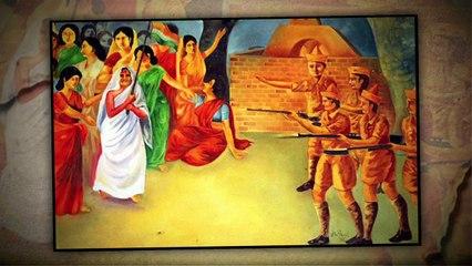 MATANGINI HAZRA THE WOMEN FREEDOM FIGHTER OF INDIA | VANDEMATRAM STORY | IN KHABAR HISTORY