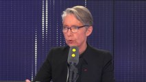 """""""Je suis préoccupée pour l'avenir d'Air France (...)  Elle est moins compétitive que sa partenaire KLM. Elle est moins compétitive que d'autres entreprises européennes de transport aérien"""", Élisabeth Borne"""