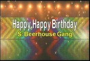 Beerhouse Gang Happy Happy Birthday Karaoke Version