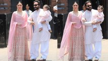 Sonam Kapoor Wedding: Taimur Ali Khan spotted in Traditional outfit with Kareena Kapoor | Boldsky