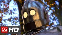 "CGI VFX Animated Short Film: ""The Iron Giant 2"" by Christian Day 