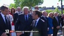 8-Mai : Emmanuel Macron rend hommage aux anciens combattants