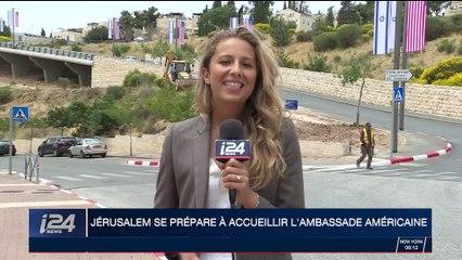 Jérusalem se prépare à accueillir l'ambassade américaine