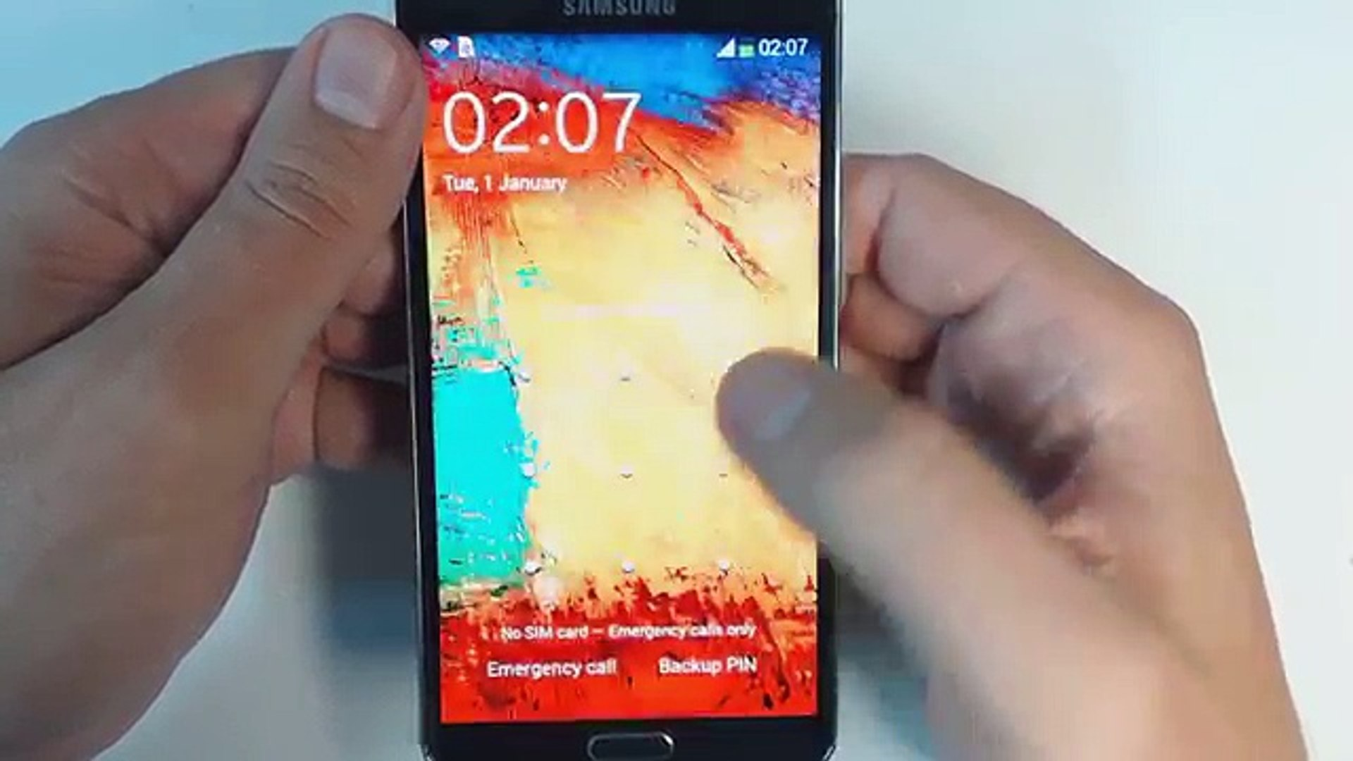 Samsung Galaxy Note 3 N9005 hard reset
