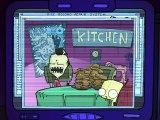 Invader Zim Zim Eats Waffles