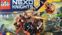 Lego Nexo Knights Moltors Lava Smasher Oyuncak Açma - Lego Nexo Knights Türkçe - Fun Block