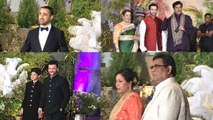 Sonam Kapoor Wedding: Bollywood Celebrities attend Sonam- Anand Ahuja Reception | FilmiBeat