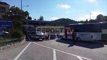 Report TV - Kakavijë, radhë të gjata në kufi probleme me palën greke