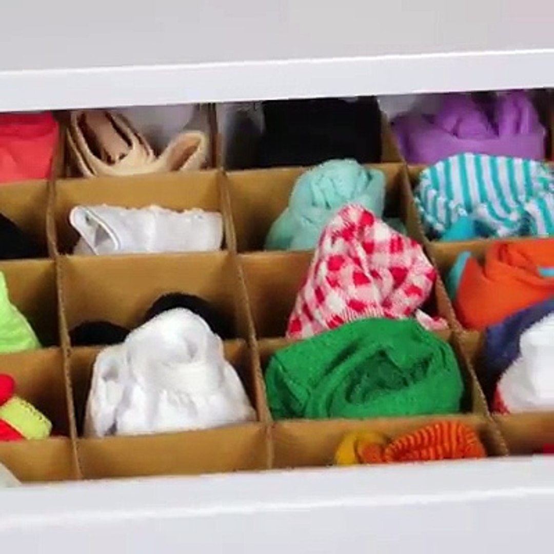 10 top tips for storing clothes and accessories!