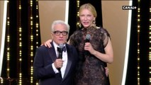 Martin Scorsese et Cate Blanchett déclarent le 71ème festival de Cannes ouvert - Cannes 2018