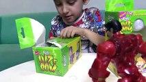 Amoeba Alienigena Captura HULK - Geleca Slimy Luz e Som de Brinquedos - Paulinho