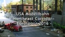 Modelleisenbahn Northeast Corridor mit Amtrak Zügen - Ein Video von Pennula zum Thema Modellbahnanlage und Modelleisenbahnausstellung