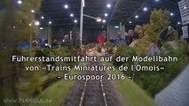 Führerstandsmitfahrt auf der Modellbahn von Trains Miniatures de l'Omois - Ein Video von Pennula zum Thema Modellbahnanlage und Modelleisenbahnausstellung