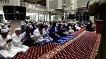 PERDANA Menteri, Datuk Seri Najib Razak menunaikan solat Magrib dan Solat Hajat di Masjid At Taqwa, Pekan menjelang Pilihan Raya Umum (PRU) ke 14.#PRU #MyUndi