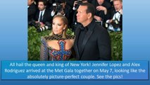 JENNIFER LOPEZ AND ALEX RODRIGUEZ ARE COUPLE GOALS - 2018 MET GALA RED CARPET