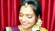 South Indian traditional Wedding make up tutorial   Naked 2 palette