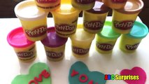Creative Kids Crafts DIY With PLAYDOH VALENTINES DAY Card & Heart Candy Box of Chocolates