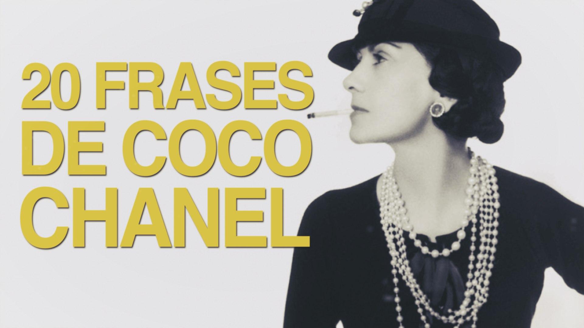 20 Frases De Coco Chanel El Feminismo De La Moda