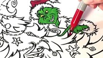 GRINCH | Coloring How the Grinch Stole Christmas - 4 colorings!