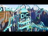 Minecraft: A MONTANHA RUSSA DE DIAMANTE!! (Diamond Roller Coaster)