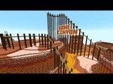 Minecraft: A MONTANHA RUSSA DOS SEGREDOS!! (Bone Canyon Roller Coaster)