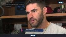 J.D. Martinez, Brock Holt And Matt Barnes Talk Red Sox-Yankees Rivalry