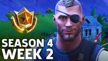 Fortnite: Battle Royale - Season 4 Week 2 Challenge Locations