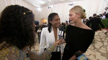 Tiffany Haddish Stuns Alongside Karlie Kloss at 2018 Met Gala