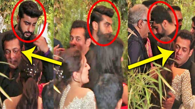 Sonam Kapoor Reception: Salman Khan INSULTS Arjun Kapoor in front of Media; Watch Video | Boldsky
