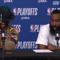 Chris Paul, James Harden reflect on advancing to conference finals