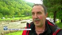 En Ariège, un village coupé du monde après une importante coulée de boue