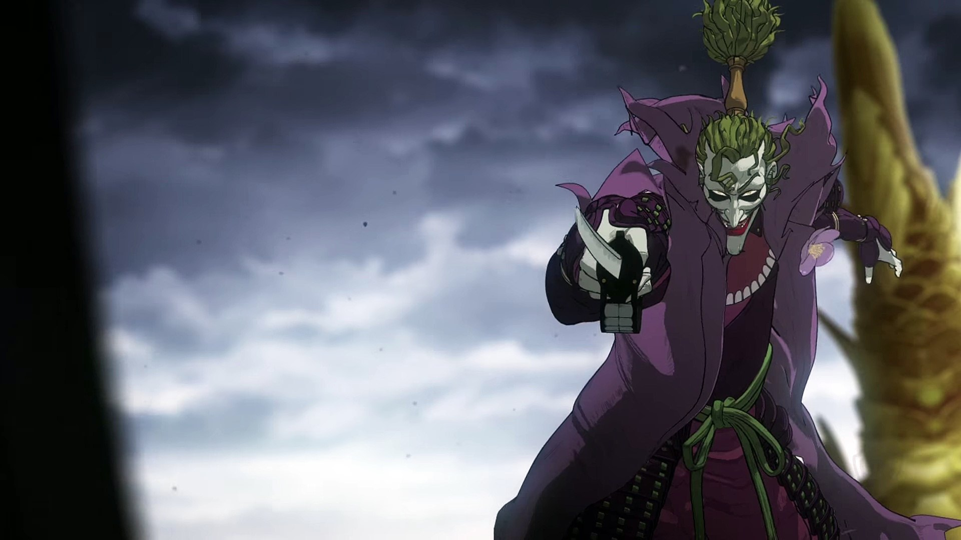 Batman Ninja Batman Vs Joker Sword Fight Video Dailymotion