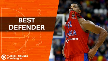 2017-18 Turkish Airlines EuroLeague Best Defender: Kyle Hines, CSKA Moscow
