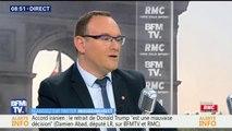 Damien Abad (LR) favorable à un référendum sur les quotas de migrants