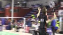 L'équipe de Chambly sacrée championne de France de badminton à Andrézieux-Bouthéon