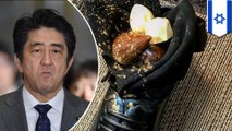 Dessert in a shoe served to Japanese prime minister - TomoNews