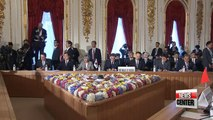 Moon, Abe discuss N. Korea denuclearization; Moon, Li agree providing bright future for N. Korea if denuclearized