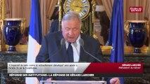 « Le temps du débat parlementaire est arrivé » déclare Gérard Larcher