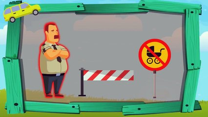 Funny Animated Cartoon   TooTooZic Babies Songs   Parking Tasks   Cartoons For Kids