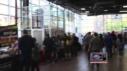 Blunt Squad TV - 5th Annual NYC Hot Sauce Expo Segment (Short Edit)